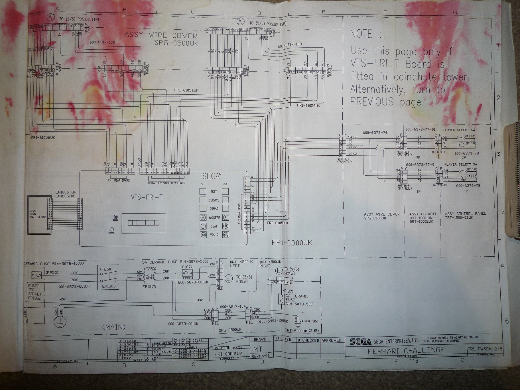 Searching F355 Challenge Wiring Diagram In Hd