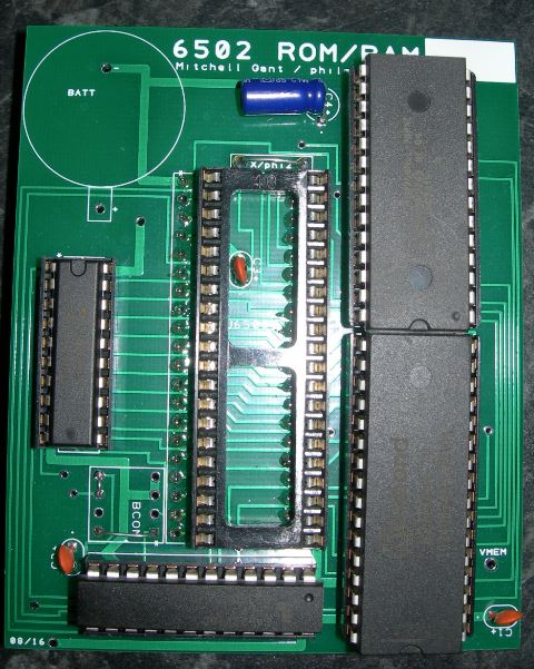 6502 single ROM/RAM board - UK-VAC : UK Video Arcade Collectors Forum