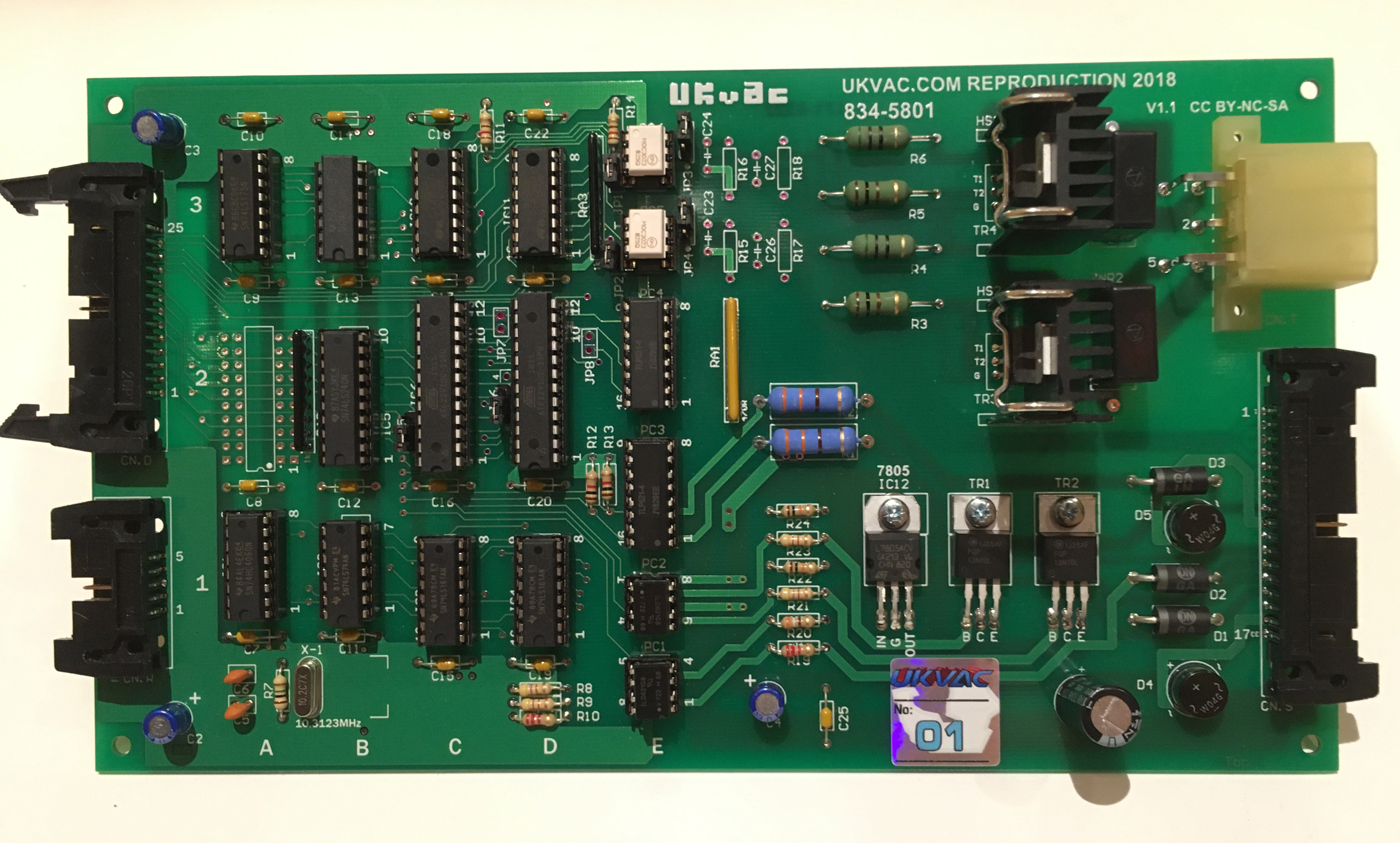Outrun/Space Harrier DLX Motor PCBs: Pre-orders! - UK-VAC : UK Video