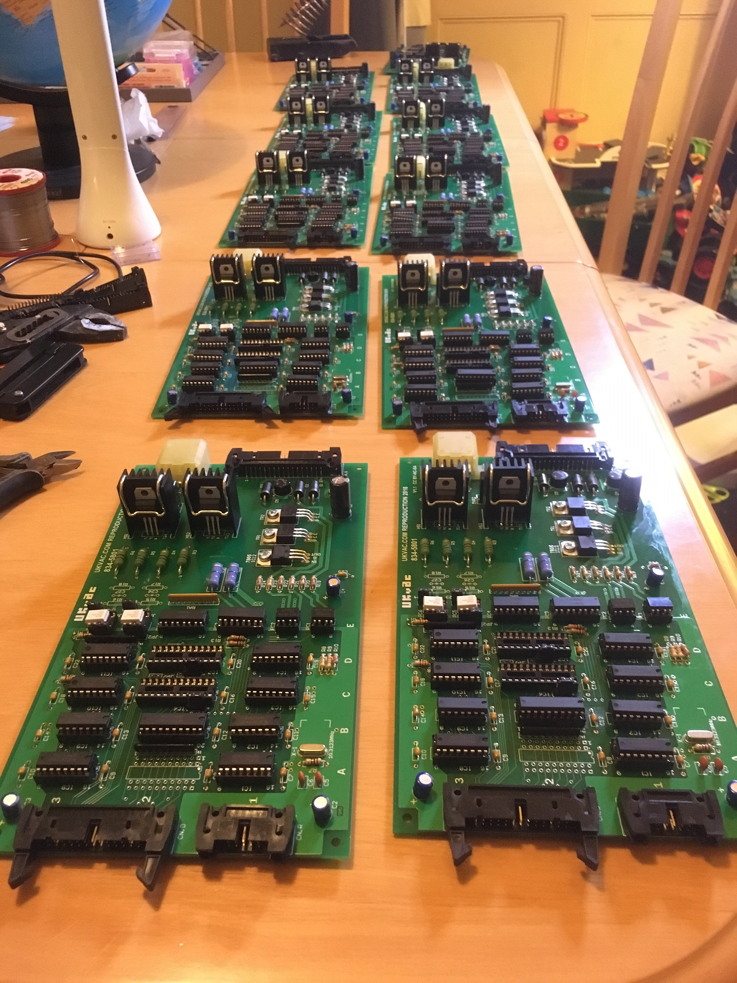 Outrun/Space Harrier DLX Compatible Motor PCBs. - UK-VAC : UK Video