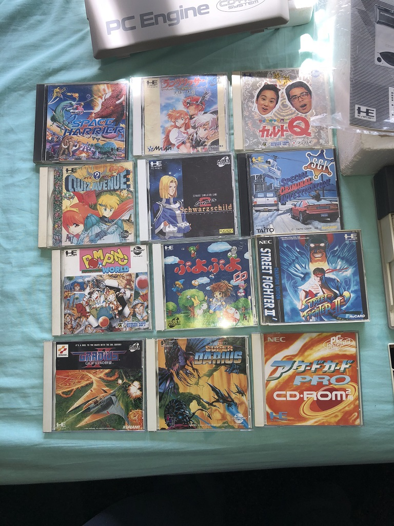 PC Engine Collection - UK-VAC : UK Video Arcade Collectors Forum