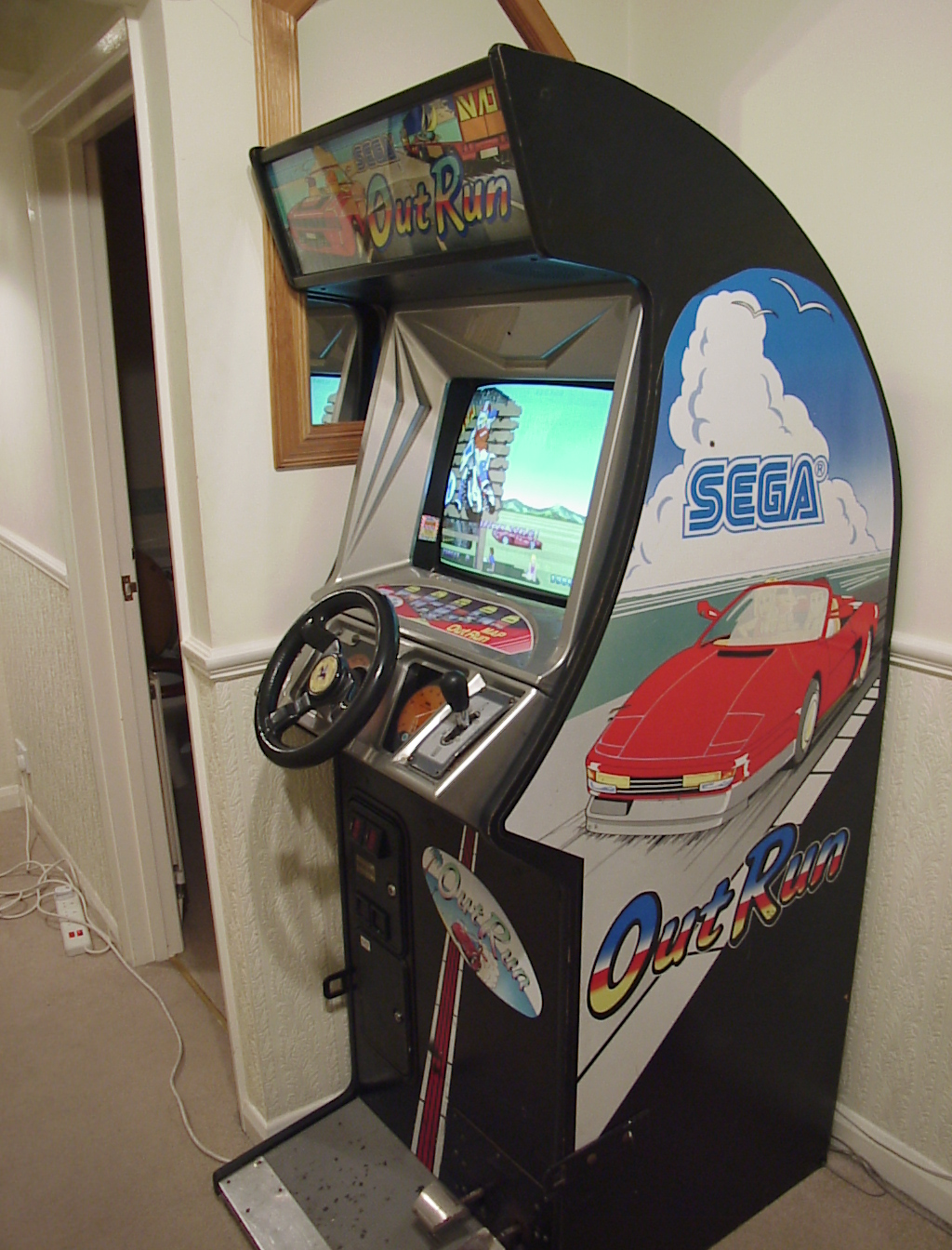 Outrun Deluxe Upright Uk Vac Uk Video Arcade Collectors Forum