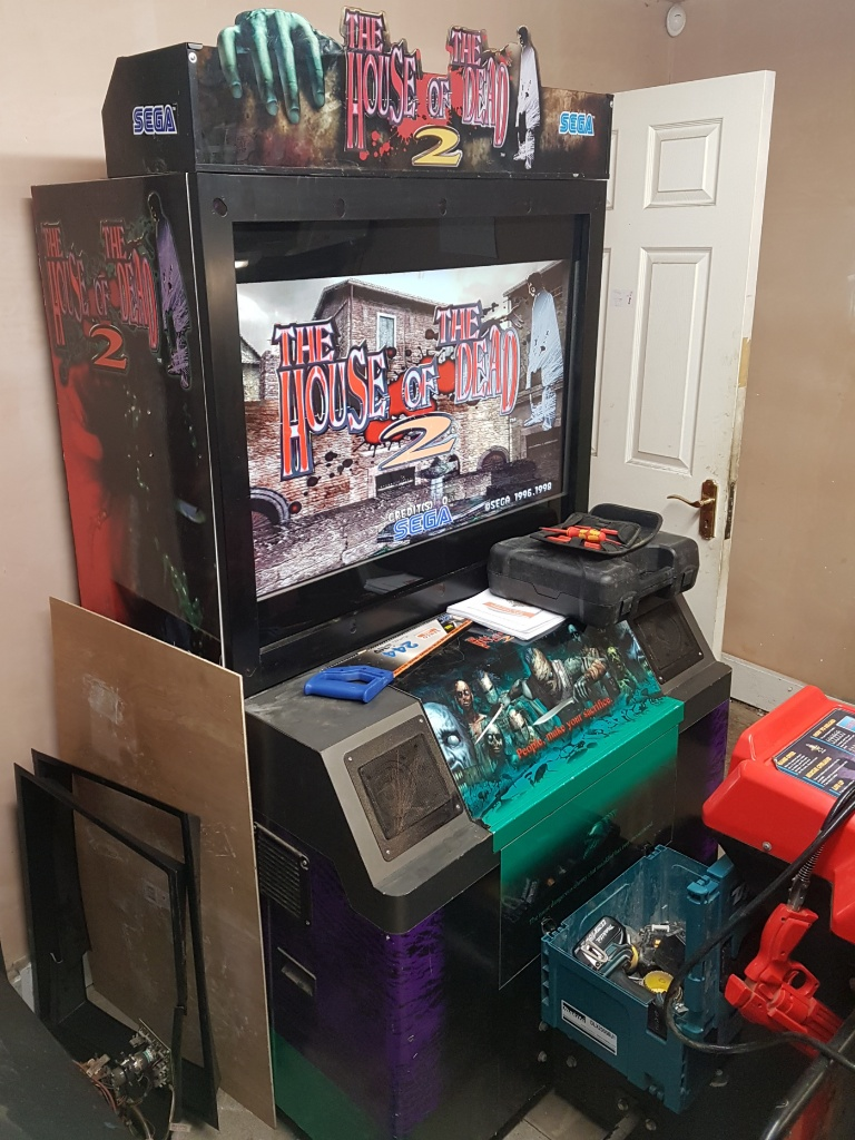Wtb House Of The Dead 1 Or 2 Machine Uk Vac Uk Video Arcade
