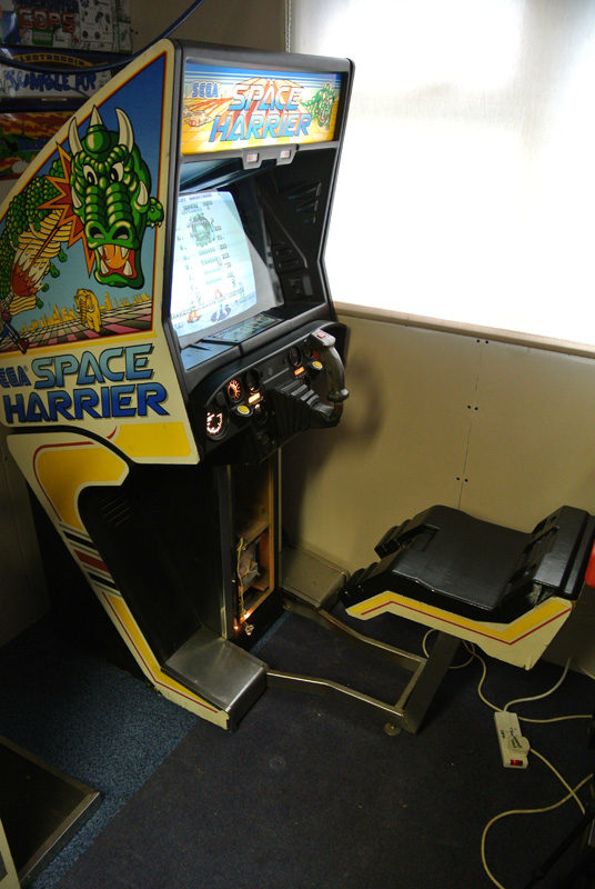 Cabs for sale - Space Harrier -SOLD - JAMMA+ Forums