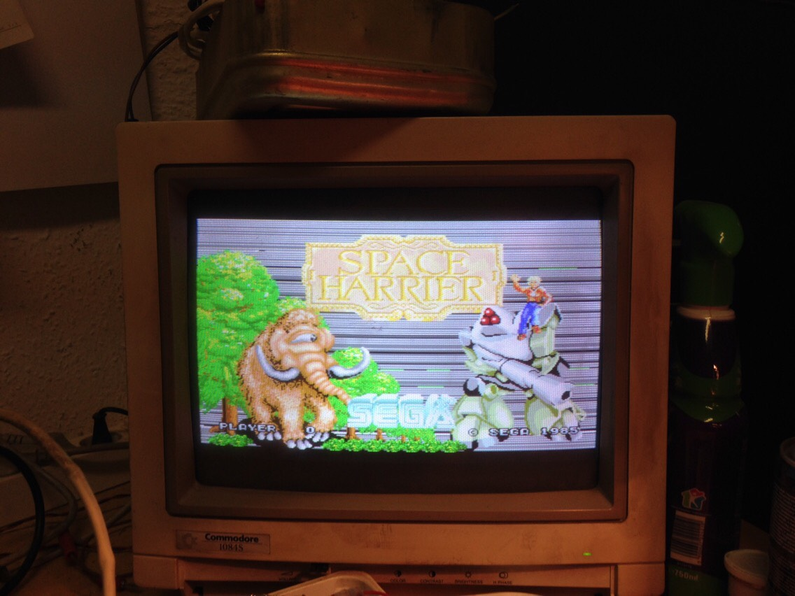 space harrier arcade machine for sale
